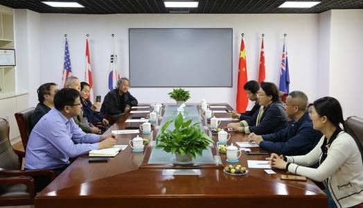 中国孔子基金会副秘书长周静莅临我集团参观考察