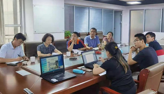 山东农业工程学院领导考察18级学生特亿宝实训地点
